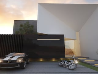 21arquitectos Minimalist houses Glass