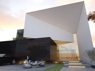 Minimalistyczne domy od 21arquitectos Minimalistyczny