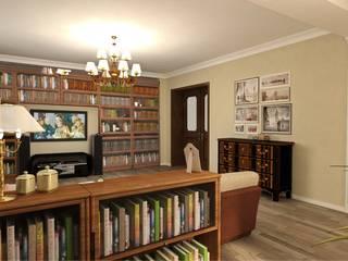 Kinder, Küche, Bücher. Гостиная в классическом стиле от Студия дизайна Ирины Комиссаровой Классический