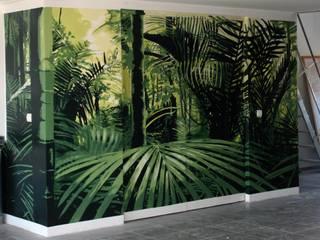 Decoración Trampantojo Selva de TRIFON MAYNOU