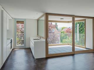 Cresta Park, Zürich Moderne Küchen von Schneider Gmür Architekten Modern