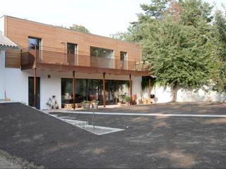 EFH Gugumuck - Wien Moderne Häuser von benjamin miatto Architektur+Gestaltung Modern