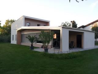 EFH Nussbaumer-Klien Moderne Häuser von benjamin miatto Architektur+Gestaltung Modern