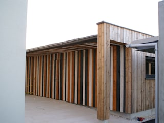 Glanzer ZT GmbH Garage / Hangar modernes