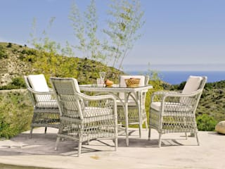 Hevea Garden Furniture Synthetic White