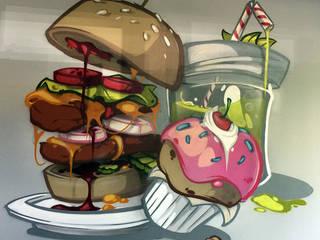 Mainhattan:  Gastronomie von SCOUTS gbr