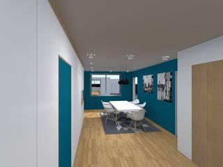 Rénovation d'un appartement lyonnais:  de style  par Amaury Degoulet - Architecte d'intérieur