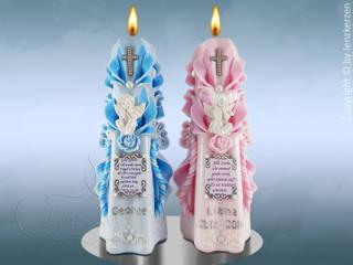 Carved Candles von Lenz Kerzen Ausgefallen