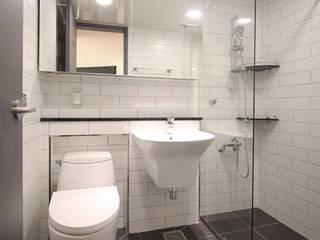 갈마 아파트 : 김정권디자이너의  화장실