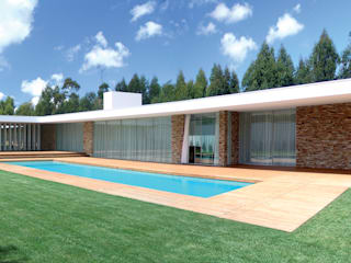 Häuser von A.As, Arquitectos Associados, Lda, Modern