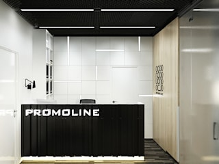 Y.F.architects Office buildings Black
