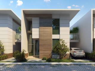 Projekty,  Domy zaprojektowane przez MARCELO FRANCO ARQUITETOS ASSOCIADOS