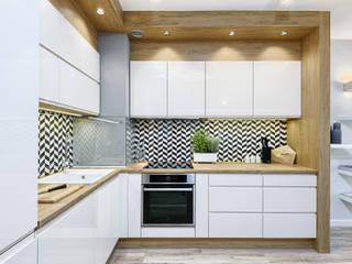 MIESZKANIE POKAZOWE NA OŁTASZYNIE: styl , w kategorii Kuchnia zaprojektowany przez Partner Design