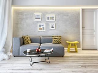 MIESZKANIE POKAZOWE NA OŁTASZYNIE: styl , w kategorii Salon zaprojektowany przez Partner Design