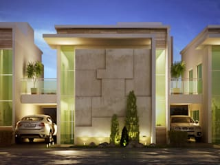 Modern houses by MARCELO FRANCO ARQUITETOS ASSOCIADOS Modern