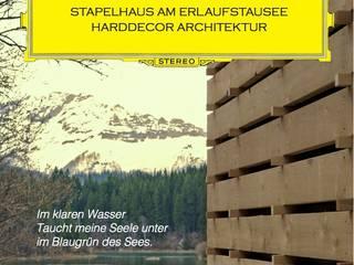 Stapelhaus | Ansichtskarte:  Terrasse von HARDDECOR ARCHITEKTUR