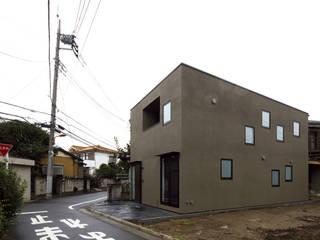 Casas de estilo minimalista de 株式会社廣田悟建築設計事務所 Minimalista