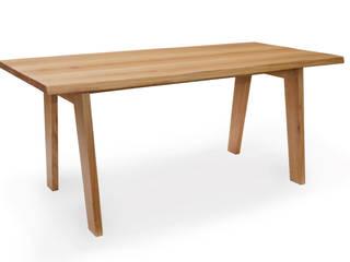 schokowerkstatt, die|frauenmöbelwerkstatt Dining roomTables Wood Beige