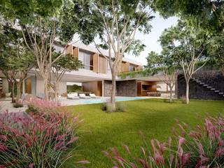 Casa H Casas minimalistas por Mader Arquitetos Associados Minimalista