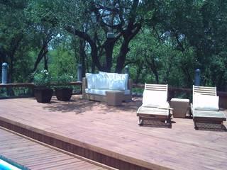 Pool Área Barrenechea - Santiago Albercas modernas de Moya-Arquitectos Moderno