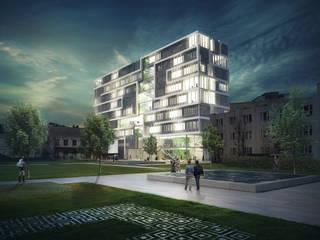 Universitätsgebäude Ulan Bator:   von Missoni -Architects