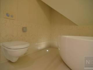 łazienka w beżach Klasyczna łazienka od Suare Studio Natalia Margraf-Wojciechowska Klasyczny