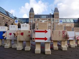De Rijkswachters - het houten leger van het Rijksmuseum:   door BEEmeubels