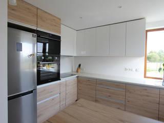 Cocinas de estilo moderno de Architektura Wnętrz Magdalena Sidor Moderno