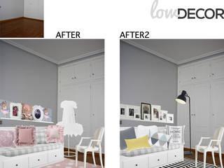cambios vivienda moderna toque clásico Salones de estilo clásico de LOWDECOR Clásico