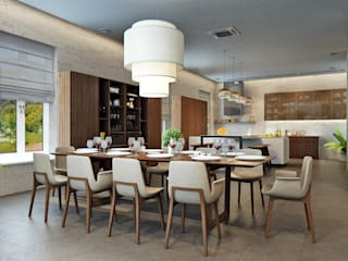 Rash_studio Modern kitchen