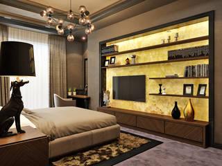 Rash_studio Eclectic style bedroom