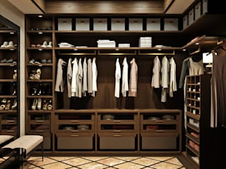 Eclectic style dressing rooms by Rash_studio Eclectic