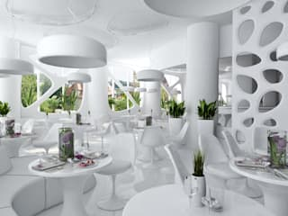 Modern bars & clubs by Rash_studio Modern