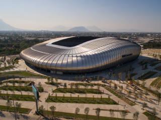 Stadion Modern Oleh HARARI LANDSCAPE Modern