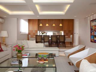 Apartamento Higienópolis Salas de jantar modernas por Marcelo Rosset Arquitetura Moderno