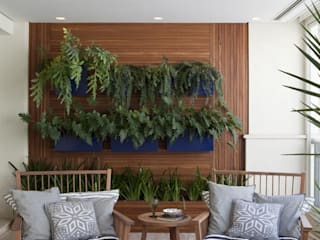Terrazas de estilo  de Marcelo Rosset Arquitetura, Moderno