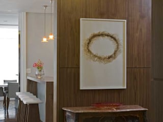 Apartamento Higienópolis 3 Corredores, halls e escadas modernos por Marcelo Rosset Arquitetura Moderno