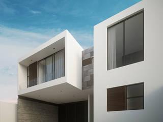 Casa Las Palmas Casas minimalistas de RTstudio Minimalista