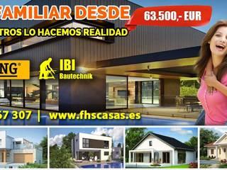 FHS Casas Modulares:  de estilo  de FHS Casas