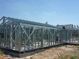 Construcción de la placa base:  de estilo  de FHS Casas