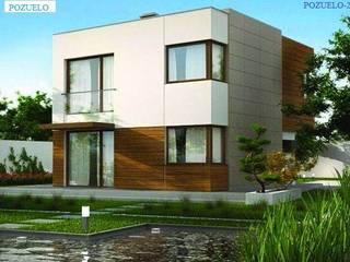 FHS Casas Prefabricadas:  de estilo  de FHS Casas