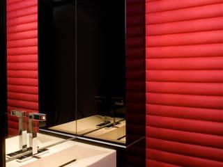 Wc: styl , w kategorii Łazienka zaprojektowany przez Bartek Włodarczyk Architekt