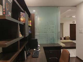 KREATIVE HOUSE Study/office Wood Brown