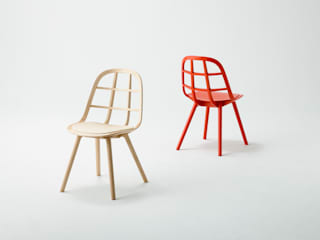 Nadia Chair :Hard Maple Red, Hard Maple Natural: MEETEE  株式会社松創が手掛けたです。
