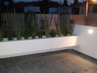 de Bamboo design & garden Moderno