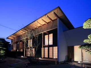 higashinagato house: 髙岡建築研究室が手掛けた家です。,和風