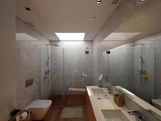 Casa em Guimarães Casas de banho minimalistas por 3H _ Hugo Igrejas Arquitectos, Lda Minimalista