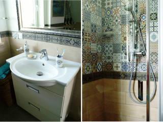 Bathroom in Second floor - shower and washbasin: styl , w kategorii Łazienka zaprojektowany przez Drob Design