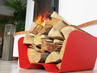 Thorwa Metalltechnik Living roomFireplaces & accessories