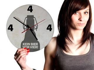 ticktick | Design Wanduhr | Vier Uhr:   von heyhey
